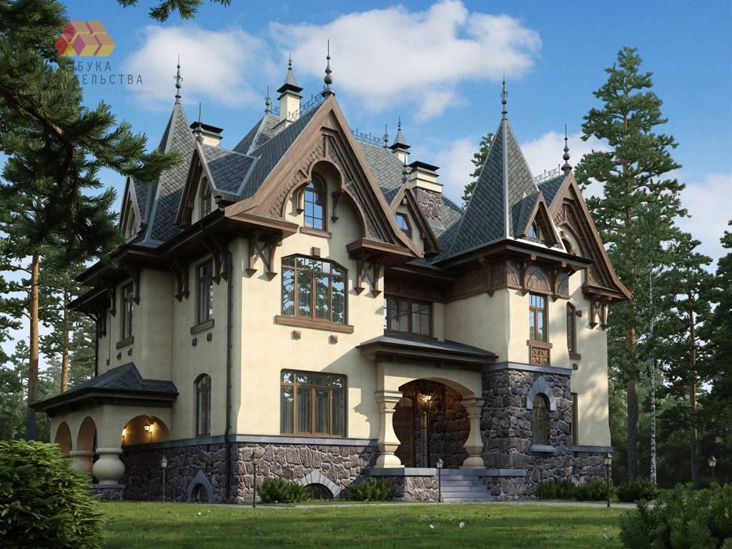 расскажу про дом замкового типа фото средство специально