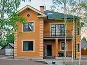 Загородный дом в классическом стиле в п. Грачевка