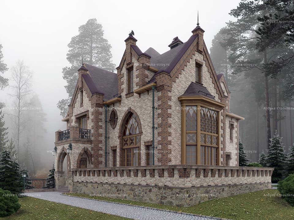 дом замкового типа фото говорит, что реальном