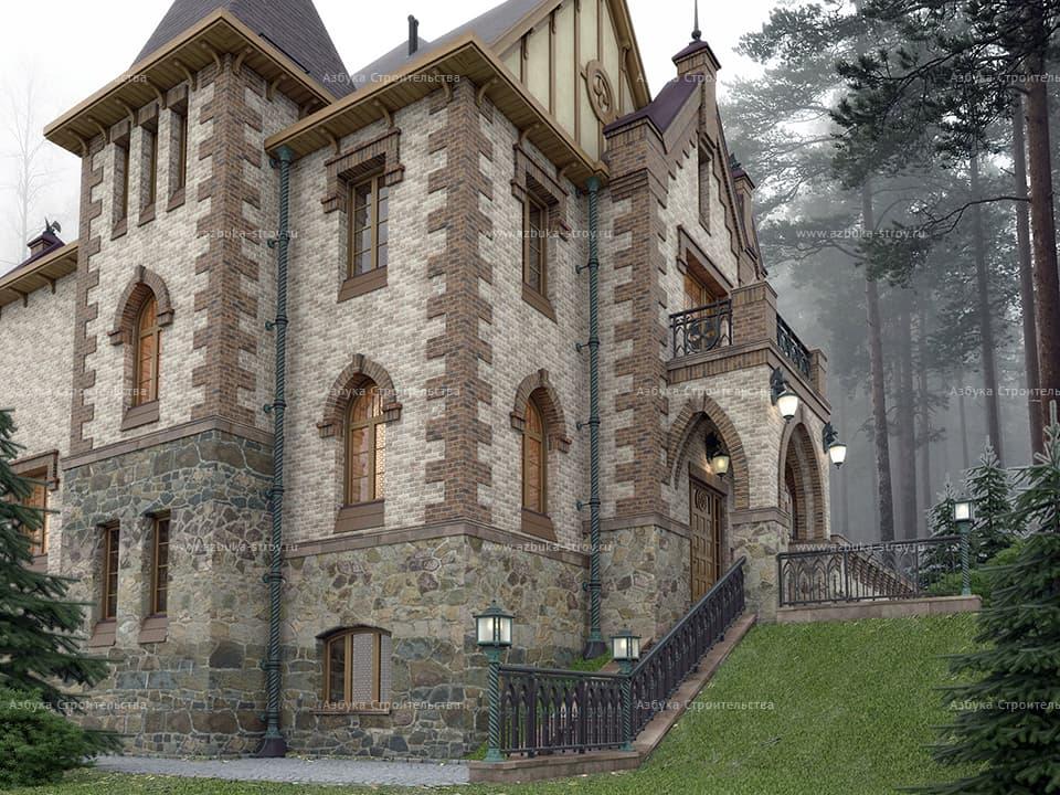 дом замкового типа фото мне