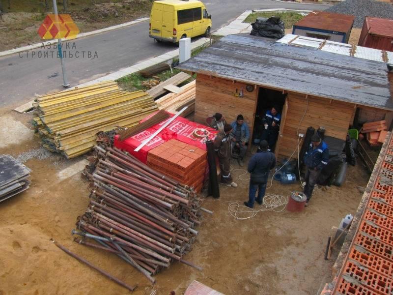 Инвентарная опалубка для перекрытий доставлена на объект