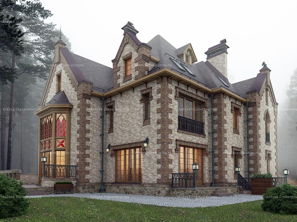 дом замкового типа фото избежать негативных