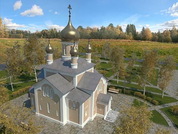 Проект храма Преображения Господня (село Образцово-Травино)